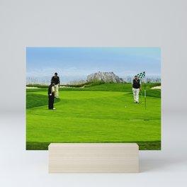 Pebble Beach Golf Course, California Mini Art Print