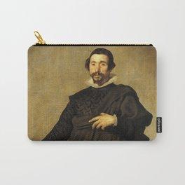 """Diego Velázquez """"Portrait of Pablo de Valladolid"""" Carry-All Pouch"""