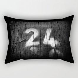 two four post Rectangular Pillow