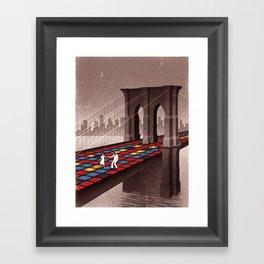 Saturday Night Fever Framed Art Print