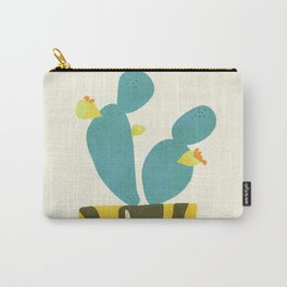 Modern Cactus Carry-All Pouch