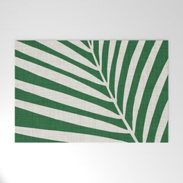 Minimalist Palm Leaf Welcome Mat