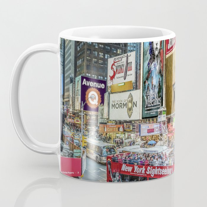 Times Square II Special Edition I Coffee Mug