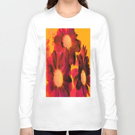 Vintage Flowers Q Long Sleeve T-shirt