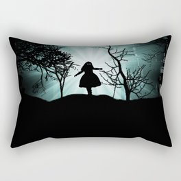 GhostGirl Rectangular Pillow