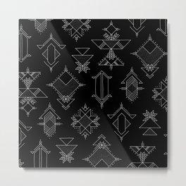 Space Gems Metal Print