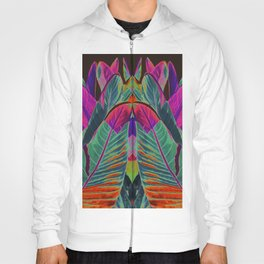 leaves pattern II Hoody