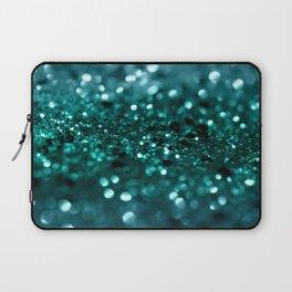 Sparkling OCEAN Glitter #1 #shiny #decor #art #society6 Laptop Sleeve