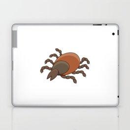 dangerous parasite - tick Laptop & iPad Skin