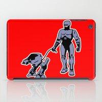robocop iPad Cases featuring Robocop by dutyfreak