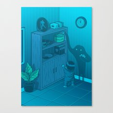 The power of imagination Canvas Print