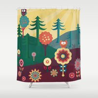 sunshine Shower Curtains featuring Sunshine by Kakel