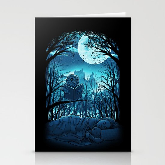 Bedtime Story Stationery Cards