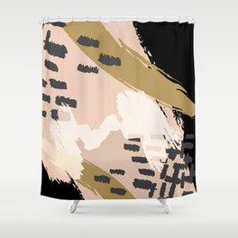 Paint Strokes Shower Curtain