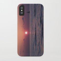 sunset Slim Case iPhone X
