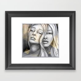 """""""Reflection II"""" by carographic Framed Art Print"""