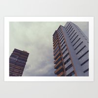buildings 3 Art Print