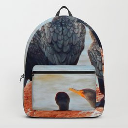 Double-Breasted Cormorants Backpack