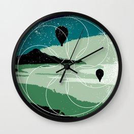 simply away Wall Clock