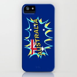 Australia iPhone Case