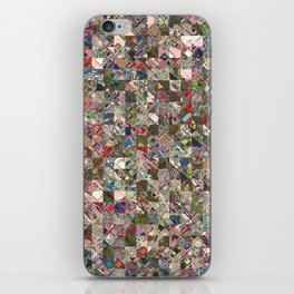 Colorful Quilt Pattern iPhone Skin