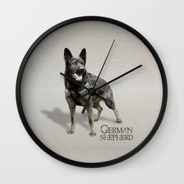 German Shepherd Dog  - GSD Wall Clock