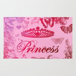 Flutterby Princess Rug