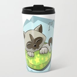 Dreaming Kitten Travel Mug