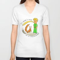 le petit prince V-neck T-shirts featuring petit by chicco montanari