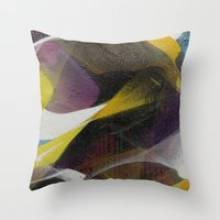 panther Throw Pillows featuring Panther by Zmogk