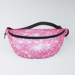 Hot Pink Galaxy Stars Sparkle Fanny Pack