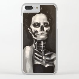 The Dead are Listening Clear iPhone Case