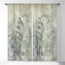 Goddess at Dawn Sheer Curtain