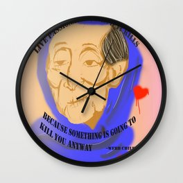 Unnamed Project: Live Passionately Wall Clock