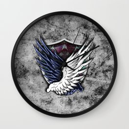 Wings of Freedom Wall Clock