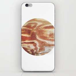 Planetary Bodies - Wood iPhone Skin