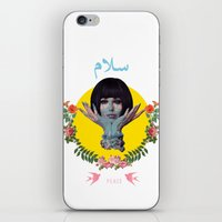 arabic iPhone & iPod Skins featuring Arabic Peace by Dima Tannir