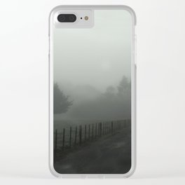 mist land2 Clear iPhone Case