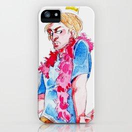.macarena.  iPhone Case