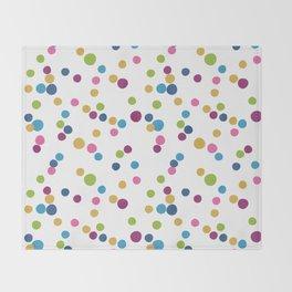 Cupcake Sprinkles Throw Blanket