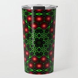 Christmas Patterns Travel Mug