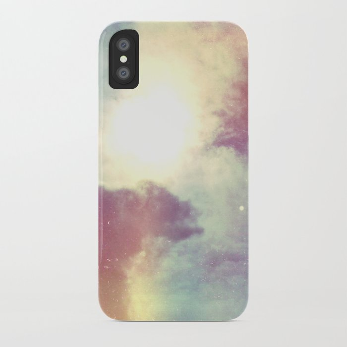 look to the sky iPhone Case