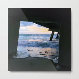 Perfection Framed Metal Print