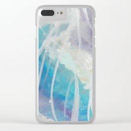 Dream Land Clear iPhone Case
