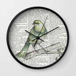 Green Is Cool Wall Clock
