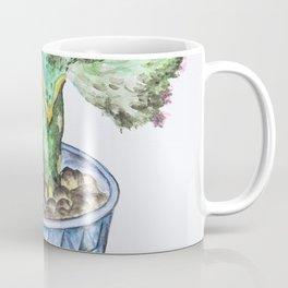 Euphorbia Lactea Cactus Coffee Mug