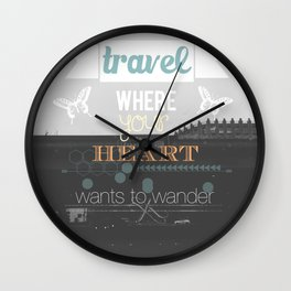 Follow Wall Clock