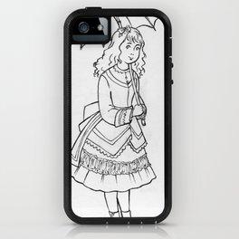 Vintage Girl iPhone Case