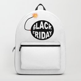 Black Friday Bomb And Lit Fuse Backpack