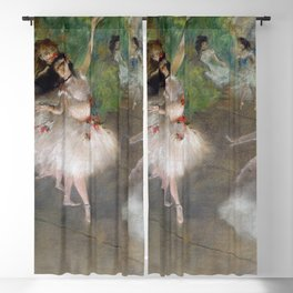 Dancers 1 By Edgar Degas | Reproduction | Famous French Painter Blackout Curtain